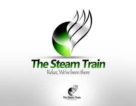 #163 dla Logo Design for, THE STEAM TRAIN. Relax, we've been there przez twindesigner