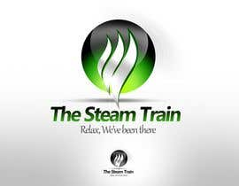 twindesigner tarafından Logo Design for, THE STEAM TRAIN. Relax, we've been there için no 164