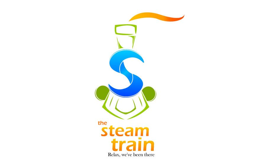 Contest Entry #316 for Logo Design for, THE STEAM TRAIN. Relax, we've been there