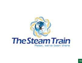 #158 dla Logo Design for, THE STEAM TRAIN. Relax, we've been there przez isurusampath