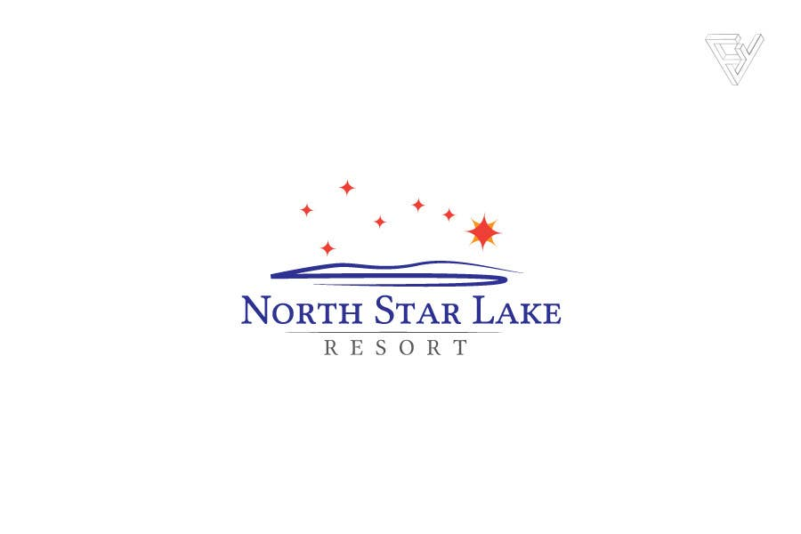 Proposition n°94 du concours Logo Design for A northwoods resort in Minnesota USA called North Star Lake Resort