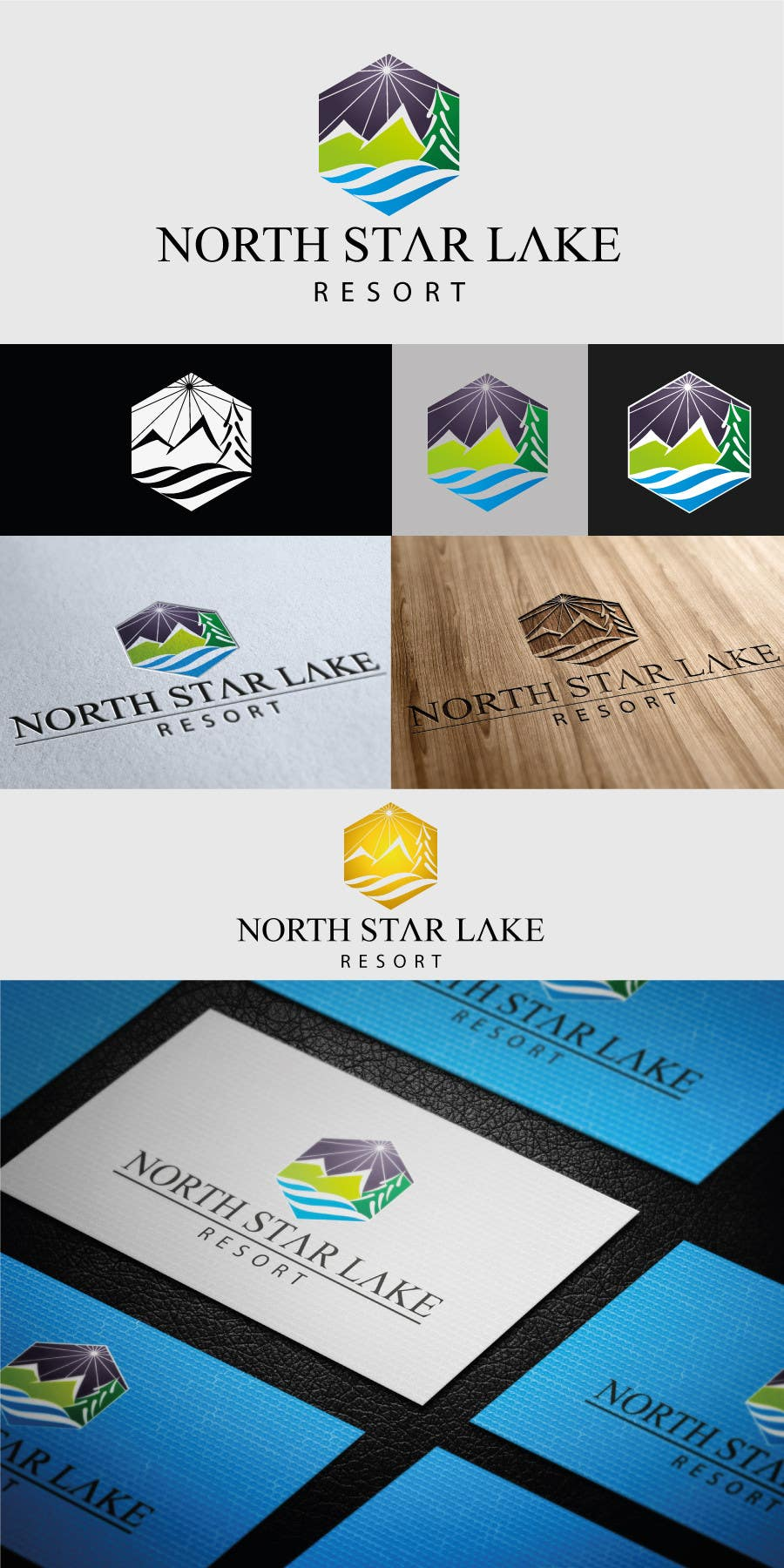 Konkurrenceindlæg #18 for Logo Design for A northwoods resort in Minnesota USA called North Star Lake Resort