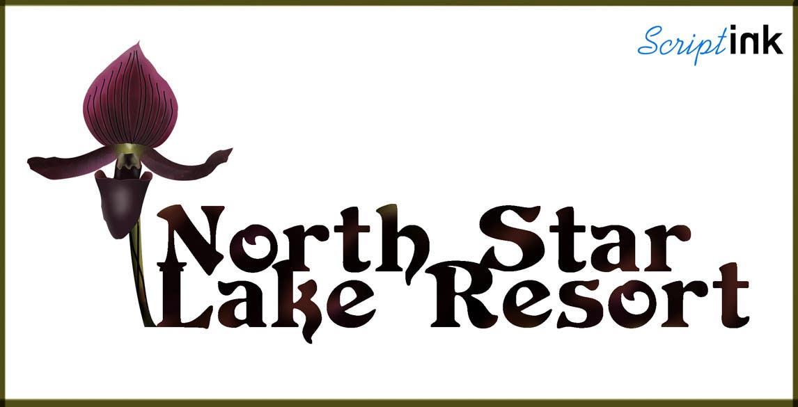 Konkurrenceindlæg #105 for Logo Design for A northwoods resort in Minnesota USA called North Star Lake Resort