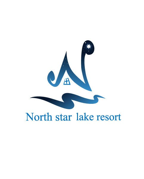 Proposition n°122 du concours Logo Design for A northwoods resort in Minnesota USA called North Star Lake Resort