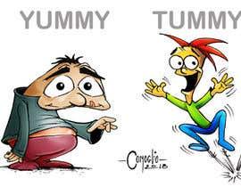 #5 untuk Drawing 2 cartoon characters oleh ecomoglio