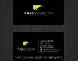 Nro 403 kilpailuun Kiwi Business Card Design käyttäjältä looterapro01