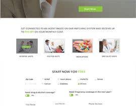 nº 40 pour Design my Landing page + Function Design par mnsiddik84