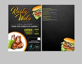 Nro 17 kilpailuun Create a double sided full colour A5 takeout food menu. käyttäjältä BudiPriyana