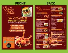 Nro 20 kilpailuun Create a double sided full colour A5 takeout food menu. käyttäjältä mdmominulhaque