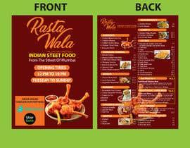 Nro 21 kilpailuun Create a double sided full colour A5 takeout food menu. käyttäjältä mdmominulhaque