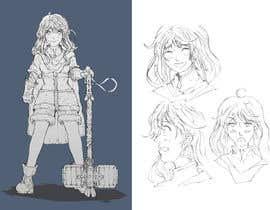 Nro 47 kilpailuun Experienced, illustrator needed for 2D Character turnaround + Expression sheet käyttäjältä KanadeChizuru