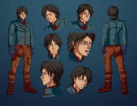 Nro 35 kilpailuun Experienced, illustrator needed for 2D Character turnaround + Expression sheet käyttäjältä MeTaLMang4