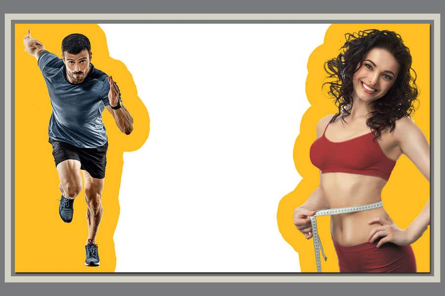 Entry 29 By Rajib024 For Design A Cover Background Image For A Health And Weight Loss Website Freelancer