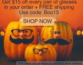 Nro 62 kilpailuun Halloween Banners käyttäjältä GabijaS