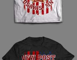 #42 untuk VFW T-Shirt Design oleh softboyasad
