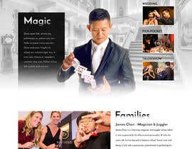 #32 for Build a new website for Dan Chan Master Magician by greenarrowinfo