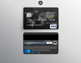 #35 , Design a Place card that looks like a credit card 来自 rajazaki01
