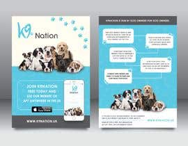 #31 para Design an eye-catching A5 flyer for print to attract dog owners attention de darbarg