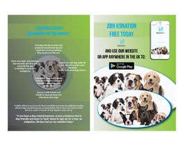 #6 para Design an eye-catching A5 flyer for print to attract dog owners attention de jyotishhalder