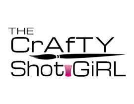 Nro 10 kilpailuun Design a Logo for TheCraftyShot Girl käyttäjältä adelheid574803