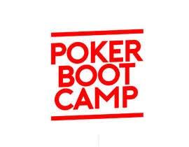 Nro 55 kilpailuun Logo Design - Poker Boot Camp käyttäjältä Sachithra007