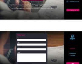 #60 para Mini website por forhat990