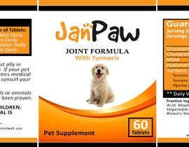 #177 untuk Label Design for Pet Vitamin Brand - JanPaw oleh onlinemahin