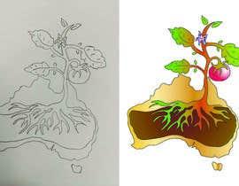 nº 12 pour Hand-drawn image conversion to digital for colour application par salinna25