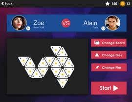 #65 for UI Design for a mobile game af arakelian