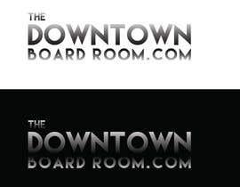 "#3 untuk Need Crisp/Clean Business logo designed for cleint ""The Downtown Board Room"" oleh mamun25g"