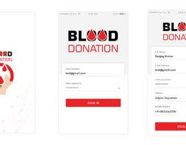 #7 for Blood donation Mobile App design by brsherkhan