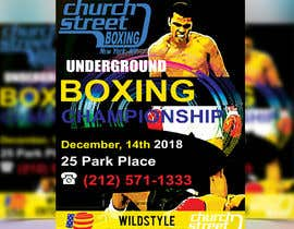 #53 untuk Design a Winter /holidayThemed Fight Poster oleh chirananimesh6