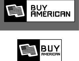 """Nro 87 kilpailuun Design """"Buy American"""" Logo käyttäjältä zinkodesign"""
