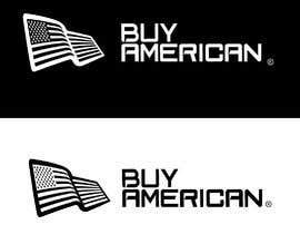 """Nro 228 kilpailuun Design """"Buy American"""" Logo käyttäjältä zinkodesign"""