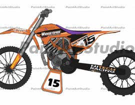 nº 12 pour Cartoon drawing of the orange bike made similar to the green one par Shtofff