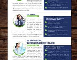 Nro 23 kilpailuun Designing two creative looking flyers for training programs käyttäjältä ssandaruwan84