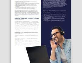 Nro 12 kilpailuun Designing two creative looking flyers for training programs käyttäjältä rahulsakat99