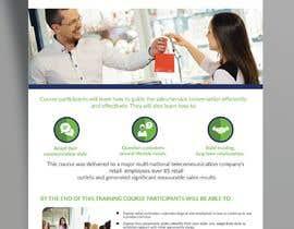Nro 18 kilpailuun Designing two creative looking flyers for training programs käyttäjältä ankurrpipaliya