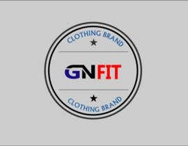 """#160 , I need a logo designed for my new clothing brand , the name will be """"GN fit"""" its a fitness clothing for men and women 来自 Arfanmahadi"""