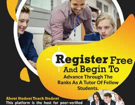 #31 pentru Design a Flyer for advertising the website StudentTeachStudent.com at Universities de către DesinerBD