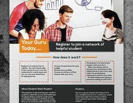 #26 pentru Design a Flyer for advertising the website StudentTeachStudent.com at Universities de către colorgraph