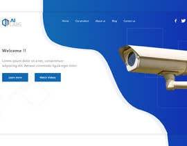 Číslo 9 pro uživatele Create a Landingpage Mockup for a Reseller of Smart Cameras od uživatele zakimubarakaziz