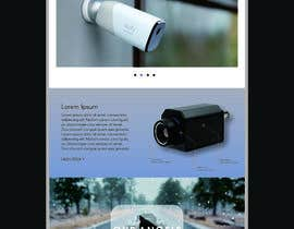 Číslo 4 pro uživatele Create a Landingpage Mockup for a Reseller of Smart Cameras od uživatele ahmed7najih