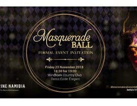 #37 para Formal masquerade event invite por karypaola83