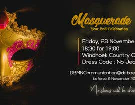 #29 para Formal masquerade event invite por nizaraknni