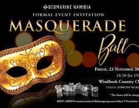 Nro 59 kilpailuun Formal masquerade event invite käyttäjältä hernanriveravzla