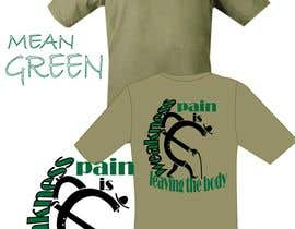 Nro 22 kilpailuun Mean Green Logo and catchphrase for team shirts käyttäjältä aafsana288