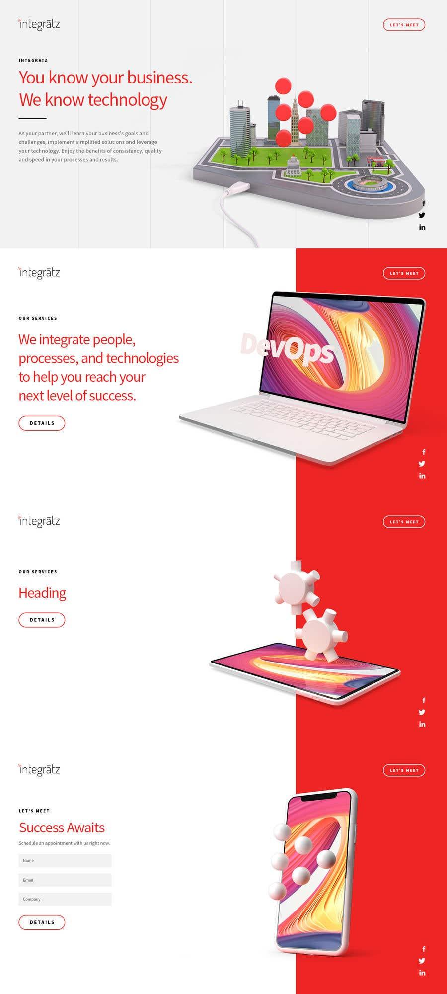 Entry 99 By Neuworx For Design A Creative Website Mockup Freelancer