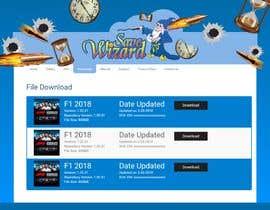 Nro 18 kilpailuun Design a File Download page (Template) that matches our theme käyttäjältä mihrana94