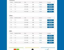 Nro 14 kilpailuun Design a File Download page (Template) that matches our theme käyttäjältä alim132647